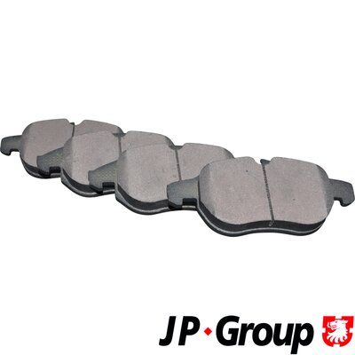 JP GROUP  1263603110 Bremsbelagsatz, Scheibenbremse Dicke/Stärke: 20mm