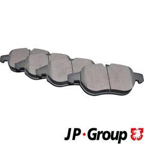 Bremsbelagsatz, Scheibenbremse Dicke/Stärke: 20mm mit OEM-Nummer 93 18 5751