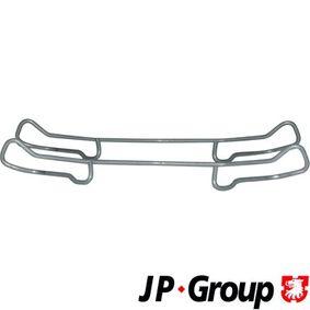 Accessory Kit, disc brake pads 1263650110 PUNTO (188) 1.2 16V 80 MY 2006