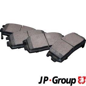 Bremsbelagsatz, Scheibenbremse Dicke/Stärke: 15mm mit OEM-Nummer 58302-H1A00