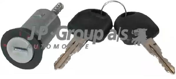 Cilindro de cierre, cerradura de encendido JP GROUP 1290400200 5710412078942