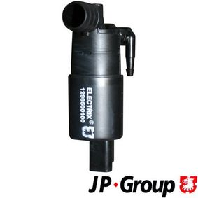Water Pump, window cleaning Voltage: 12V, Number of connectors: 2 with OEM Number 8200 030 639