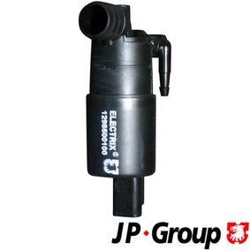 JP GROUP  1298500100 Waschwasserpumpe, Scheibenreinigung Spannung: 12V, Anschlussanzahl: 2