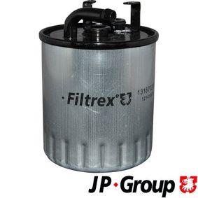 Kraftstofffilter Höhe: 105mm mit OEM-Nummer 611 092 06 01 67