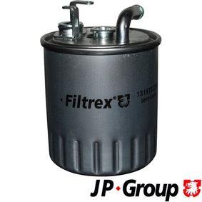 Kraftstofffilter Höhe: 105mm mit OEM-Nummer A 611 092 06 01