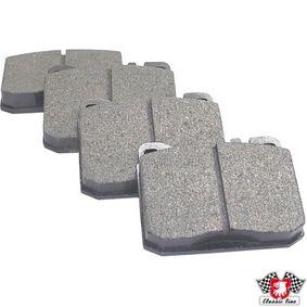 Bremsbelagsatz, Scheibenbremse Dicke/Stärke: 17,5mm mit OEM-Nummer A0004206020