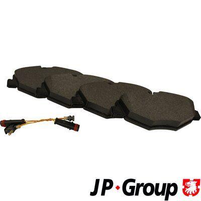 JP GROUP  1363600810 Bremsbelagsatz, Scheibenbremse Dicke/Stärke: 20,4mm