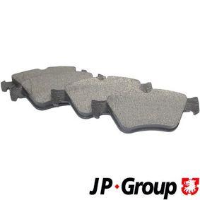 JP GROUP  1363600910 Bremsbelagsatz, Scheibenbremse Dicke/Stärke: 19,8mm