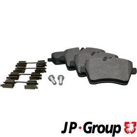 Brake Pad Set, disc brake Thickness: 19mm with OEM Number 169 420 1320