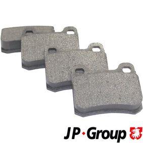 Bremsbelagsatz, Scheibenbremse Dicke/Stärke: 15,5mm mit OEM-Nummer A0004209820