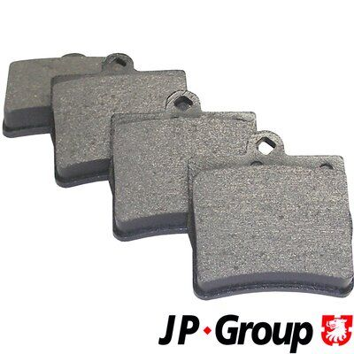 JP GROUP  1363700510 Bremsbelagsatz, Scheibenbremse Dicke/Stärke: 15,5mm