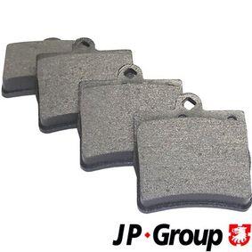 Bremsbelagsatz, Scheibenbremse Dicke/Stärke: 15,5mm mit OEM-Nummer A00 242 05120
