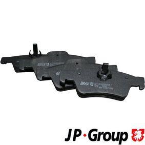 Bremsbelagsatz, Scheibenbremse Dicke/Stärke: 16,7mm mit OEM-Nummer 0 064 20 0120