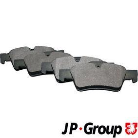 Комплект спирачно феродо, дискови спирачки 1363701210 M-класа (W164) ML 320 CDI 3.0 4-matic (164.122) Г.П. 2009