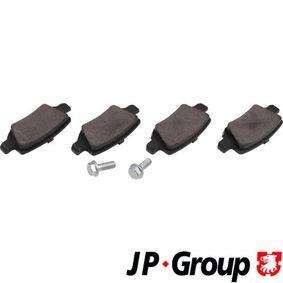 Bremsbelagsatz, Scheibenbremse Dicke/Stärke: 14,6mm mit OEM-Nummer A169 420 1720