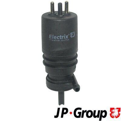 JP GROUP  1398500100 Waschwasserpumpe, Scheibenreinigung Spannung: 12V