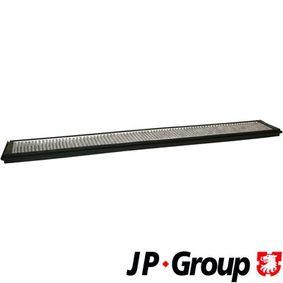 Filter, Innenraumluft Länge: 660mm, Breite: 95mm, Höhe: 20mm mit OEM-Nummer 64 31 9 257 504