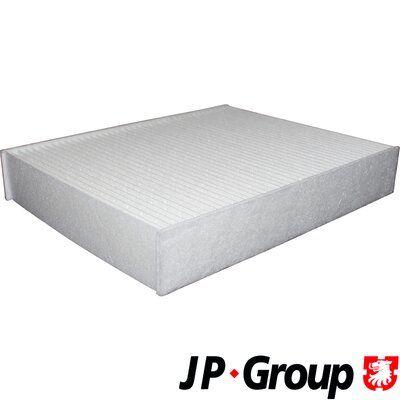 JP GROUP  1428102500 Filter, Innenraumluft Länge: 198mm, Breite: 248mm, Höhe: 41mm