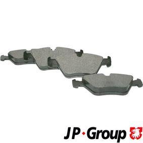 Bremsbelagsatz, Scheibenbremse Dicke/Stärke: 20,3mm mit OEM-Nummer 34116761280