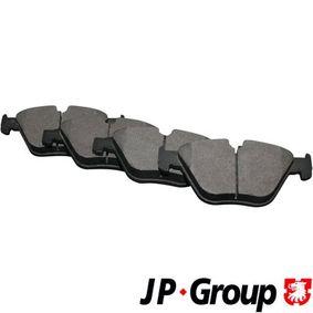 Bremsbelagsatz, Scheibenbremse Dicke/Stärke: 20,3mm mit OEM-Nummer 3411 6794 916