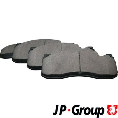 JP GROUP  1463601710 Bremsbelagsatz, Scheibenbremse Dicke/Stärke: 17mm