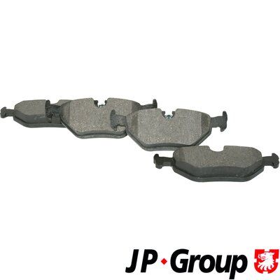 JP GROUP  1463700310 Bremsbelagsatz, Scheibenbremse Dicke/Stärke: 17,3mm