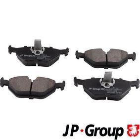 Bremsbelagsatz, Scheibenbremse Dicke/Stärke: 17,3mm mit OEM-Nummer 3421 6761 281
