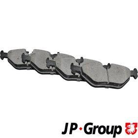 Bremsbelagsatz, Scheibenbremse Dicke/Stärke: 17,3mm mit OEM-Nummer 3421 1160 341
