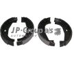Frenos de tambor BMW 3 Compact (E36) 1997 Año 34416761289ALT JP GROUP Eje trasero, Ø: 161mm