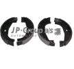 Frenos de tambor JP GROUP 34416761289ALT Eje trasero, Ø: 161mm