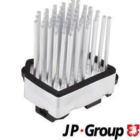 JP GROUP  1496850100 Widerstand, Innenraumgebläse Pol-Anzahl: 5-polig