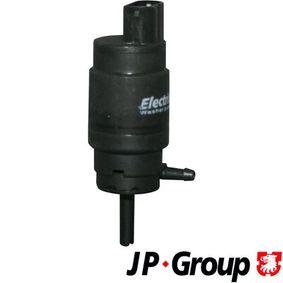Waschwasserpumpe, Scheibenreinigung Spannung: 12V mit OEM-Nummer 6166 1 377 830