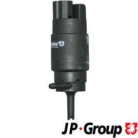 Waschwasserpumpe, Scheibenreinigung Spannung: 12V mit OEM-Nummer 61661367389
