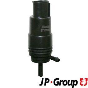 Waschwasserpumpe, Scheibenreinigung Spannung: 12V mit OEM-Nummer 67128360244