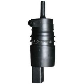 Waschwasserpumpe, Scheibenreinigung Spannung: 12V, Anschlussanzahl: 1 mit OEM-Nummer 1T0955651
