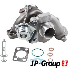 JP GROUP Turbocompresor, sobrealimentación 1517400400 con OEM número 9657603780