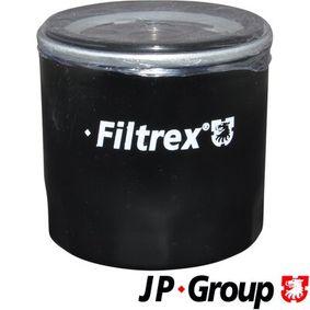 Ölfilter Ø: 76mm, Innendurchmesser 2: 63mm, Innendurchmesser 2: 72mm, Höhe: 75mm mit OEM-Nummer 71736169