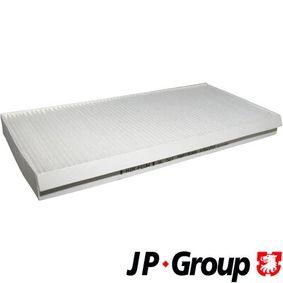 Filter, Innenraumluft Länge: 350mm, Breite: 162mm, Höhe: 30mm mit OEM-Nummer 1 062 253