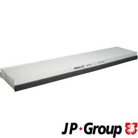 Filter, Innenraumluft Länge: 515mm, Breite: 108mm, Höhe: 32mm mit OEM-Nummer 3401703