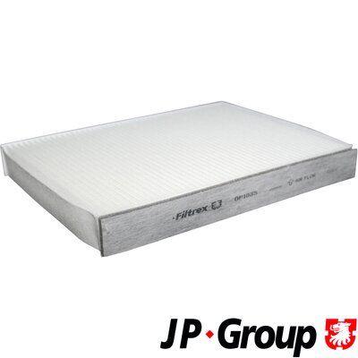JP GROUP  1528100400 Filter, Innenraumluft Länge: 240mm, Breite: 190mm, Höhe: 35mm