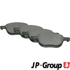 Bremsbelagsatz, Scheibenbremse Dicke/Stärke: 18,3mm mit OEM-Nummer 3M51-2K021-AB