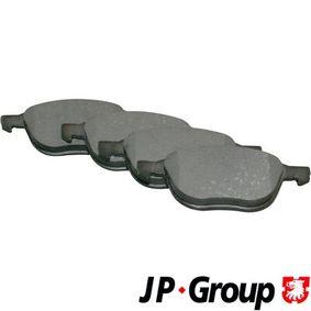 Bremsbelagsatz, Scheibenbremse Dicke/Stärke: 18,3mm mit OEM-Nummer 1695810