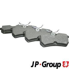 Brake Pad Set, disc brake 1563700410 FIESTA 6 1.6 ST MY 2015