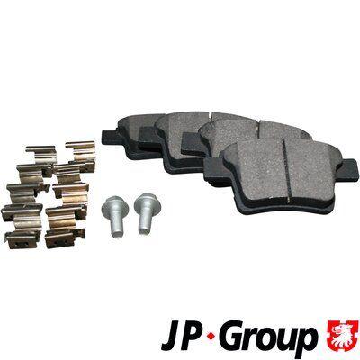 JP GROUP  1563700510 Bremsbelagsatz, Scheibenbremse Dicke/Stärke: 16,3mm