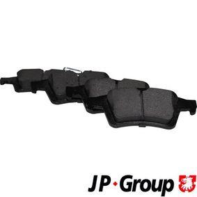 2011 Mazda 3 BL 1.6 MZR Brake Pad Set, disc brake 1563701510