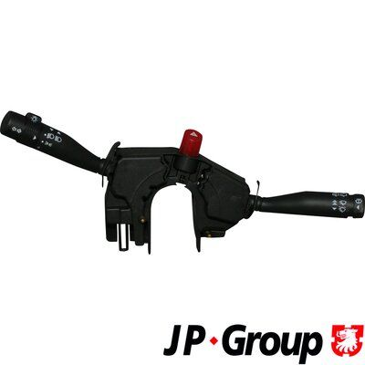 JP GROUP  1596200400 Steering Column Switch Number of Poles: 21-pin connector, with hazard light system function, with headlight flasher, with indicator function, with light dimmer function, with rear wipe-wash function, with wipe interval function, with wipe-wash function