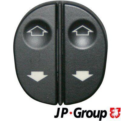 JP GROUP  1596700270 Interruptor, elevalunas Número de conexiones: 8