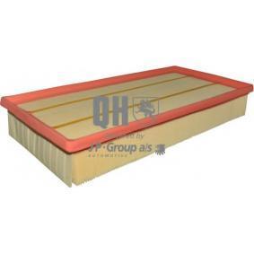JP GROUP Luftfilter 1618601509 für AUDI Q7 (4L) 3.0 TDI ab Baujahr 11.2007, 240 PS