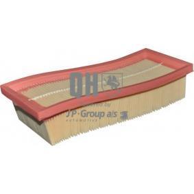 Luftfilter Länge: 230mm, Breite: 90mm, Höhe: 48mm mit OEM-Nummer 71754224