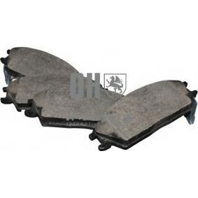 Bremsbelagsatz, Scheibenbremse Dicke/Stärke: 15mm mit OEM-Nummer 58101-24B00